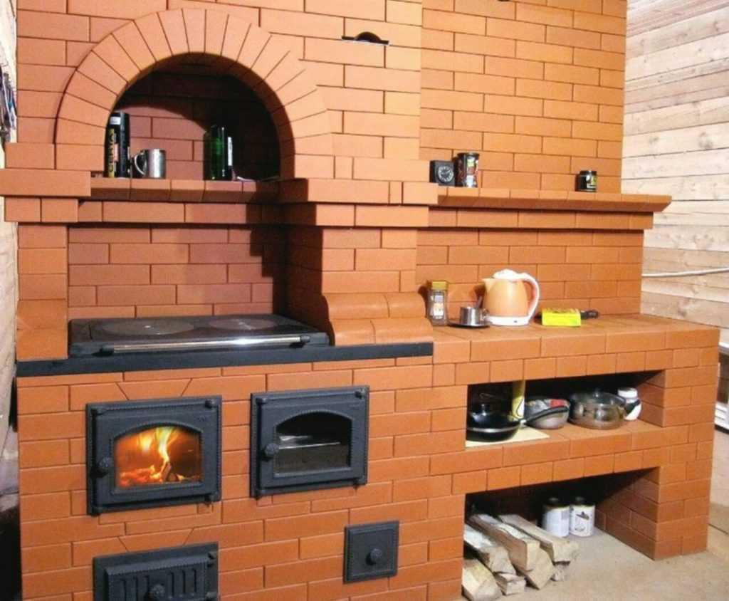 Виды печей для дома на твердом топливе