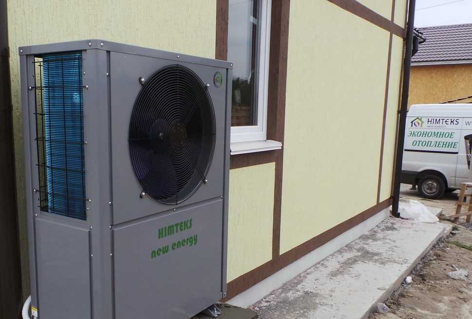 Выбор насоса системы воздух-вода
