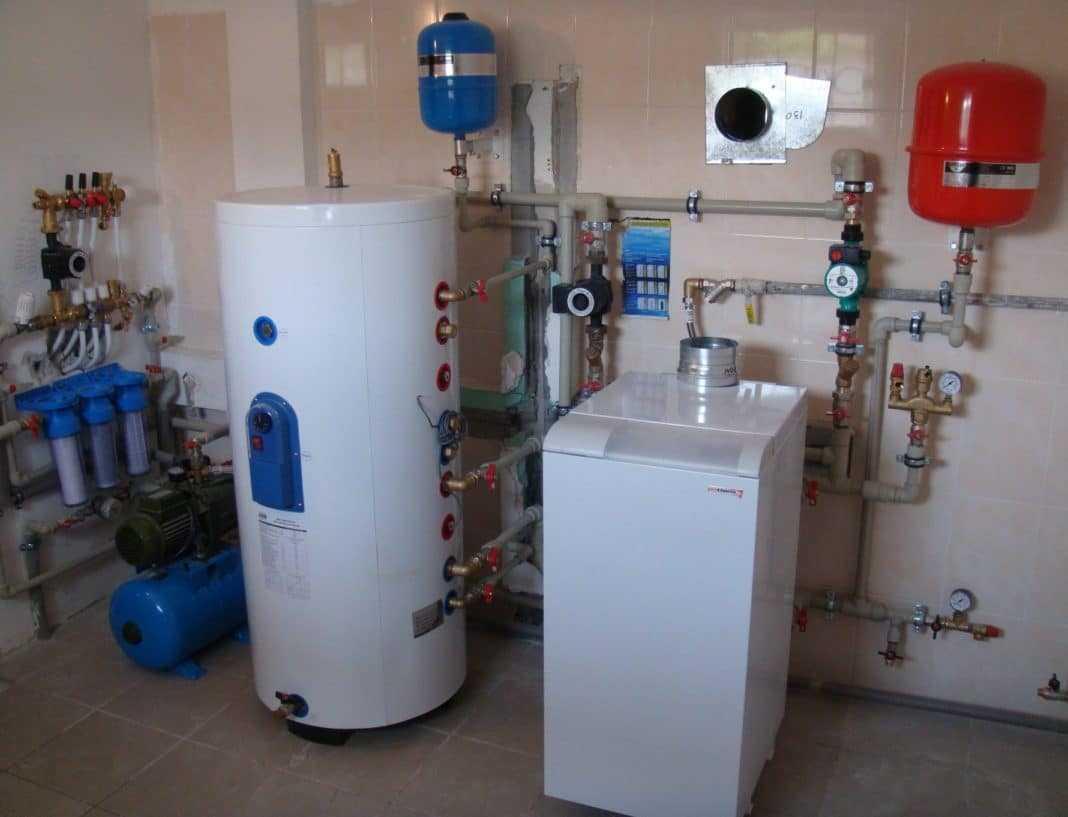 Пример автономной системы отопления