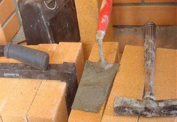 инструменты печника для кладки голландки