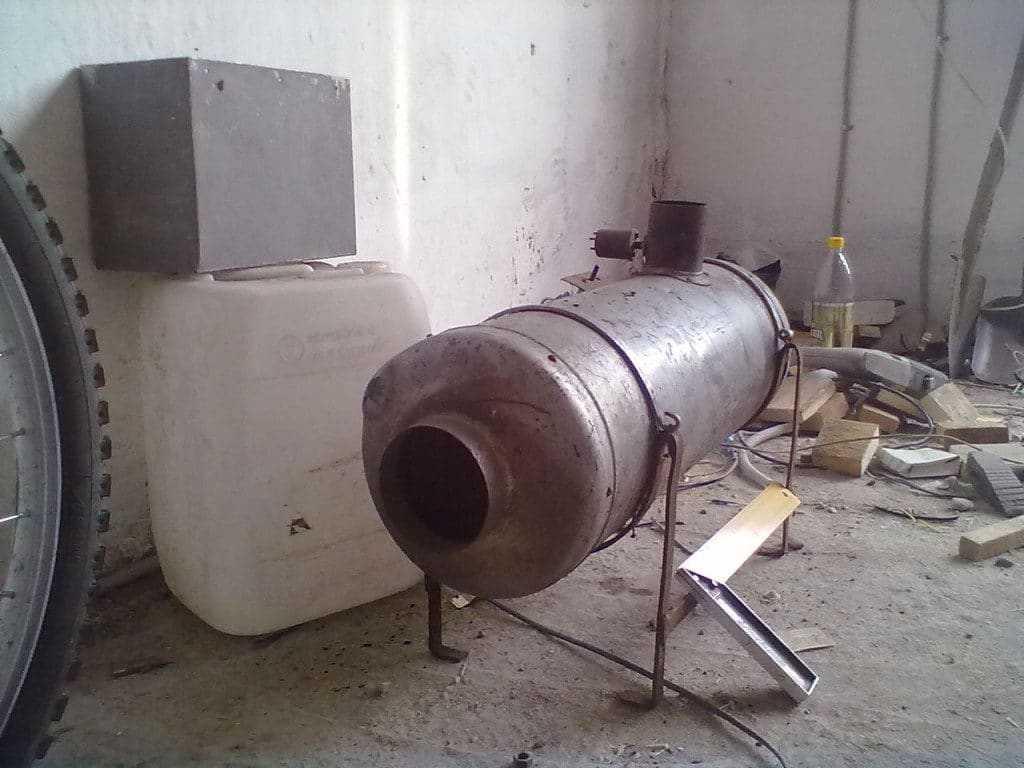 дизельная печь
