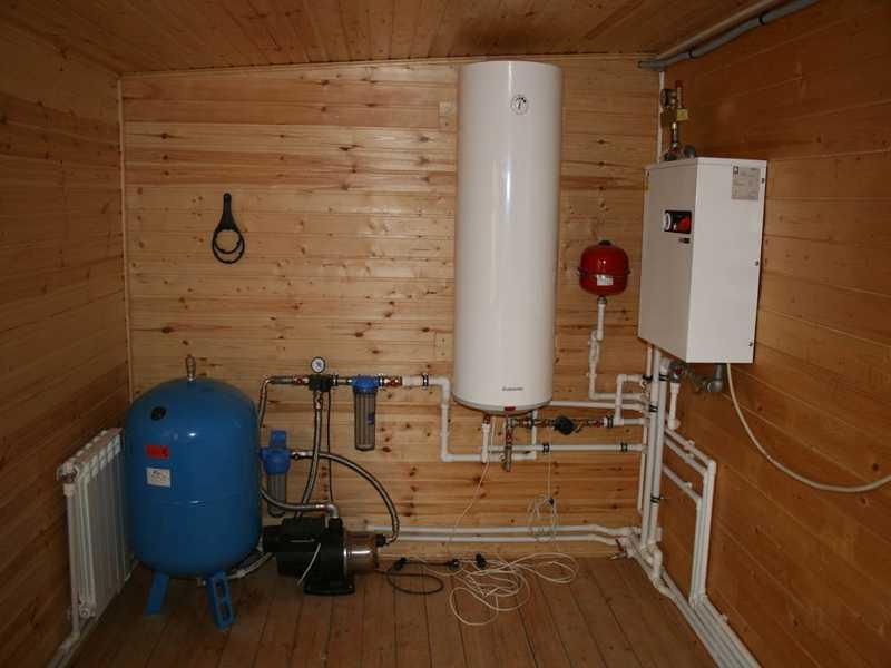 Автономная система отопления с собственным теплогенератором