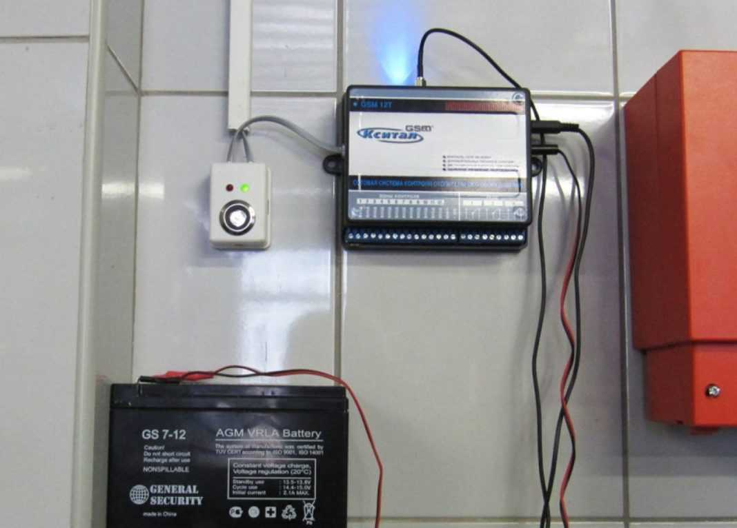 GSM управление котлом