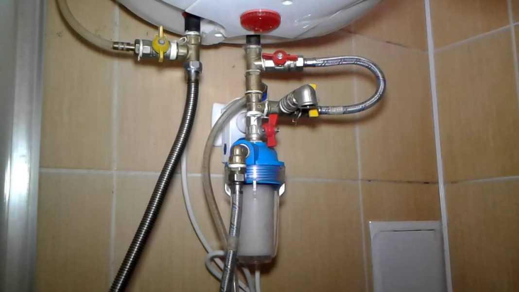Как правильно слить воду с бойлера