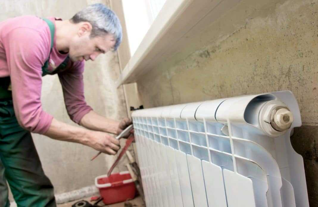 Утечка в системе отопления