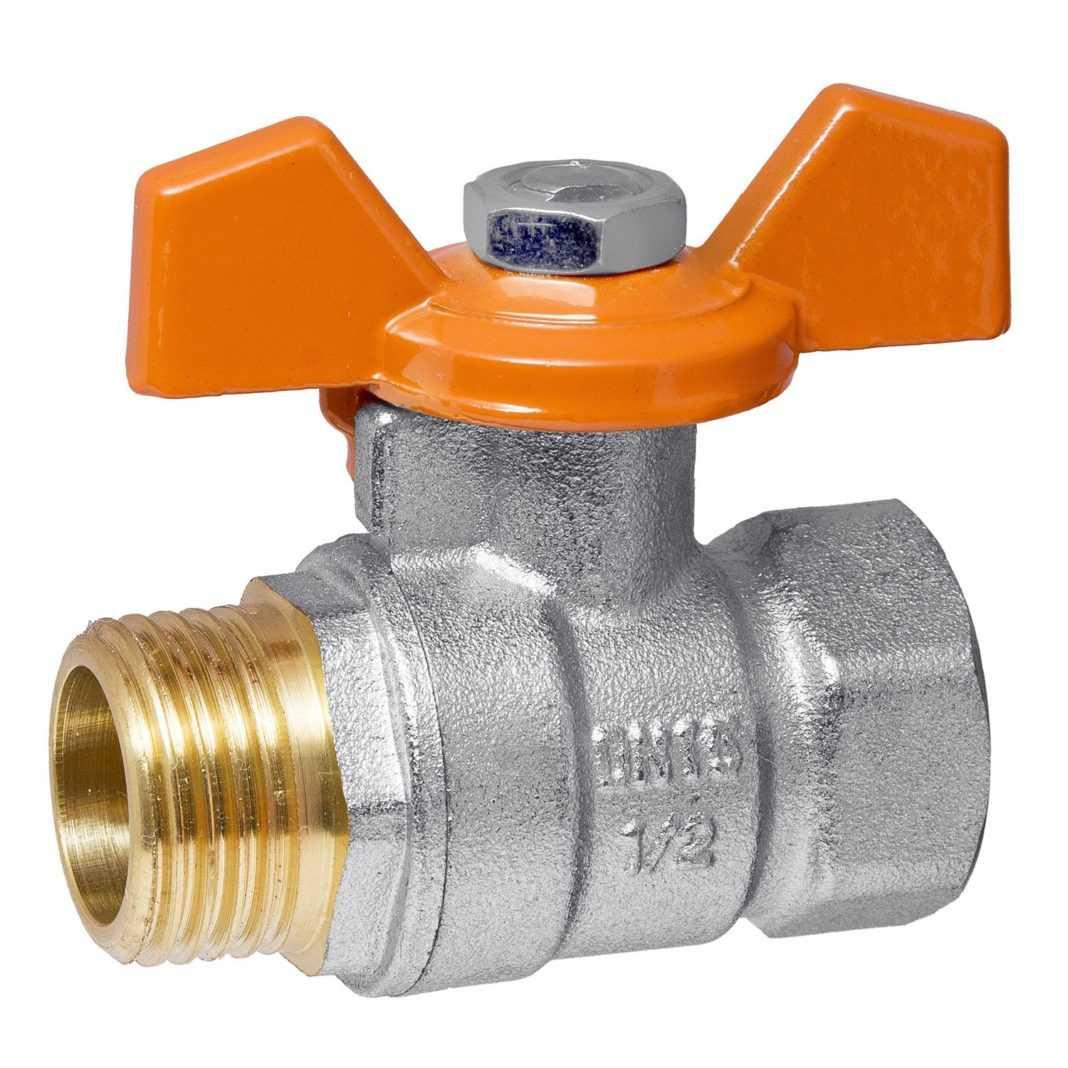 Запорный клапан для радиатора отопления