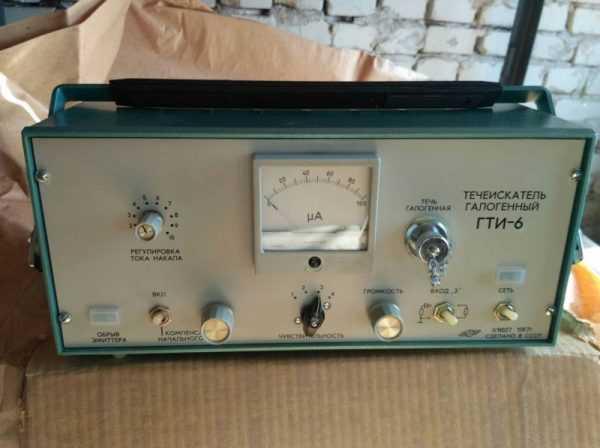 Галоидный течеискатель ГТИ-6.