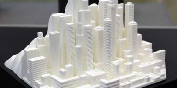 3D модель из полиморфного пластика