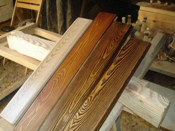 Обработанная деревянная поверхность