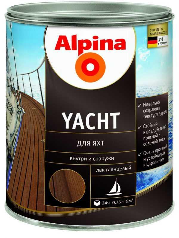 Яхтный лак Alpina Yachtlack