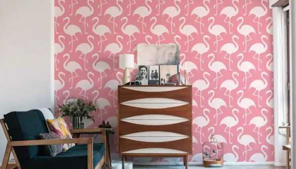 Стена окрашенная в Sweet Lilac