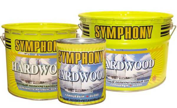 Яхтный лак Symphony Hardwood