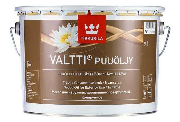 Масло для террас Валтти