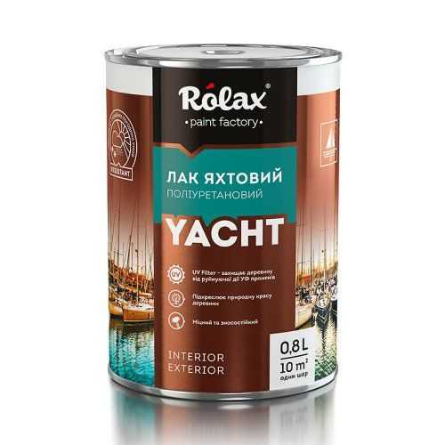 Яхтный лак Rolax