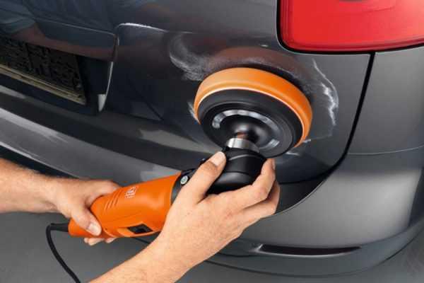 Абразивная полировка ЛКП автомобиля