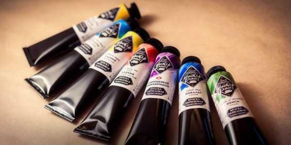 Акриловые краски Мастер Класс для рисования