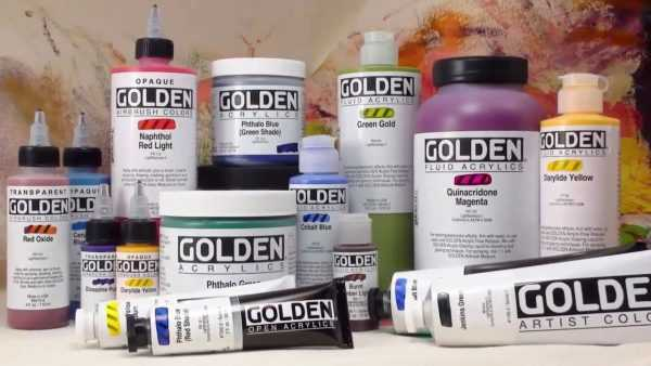 Краски Golden