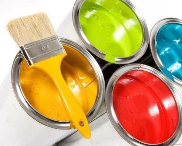 Акриловая краска для потолков и стен