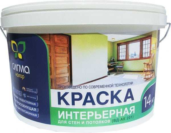 Для покраски стен по трафаретам подходит акриловая краска