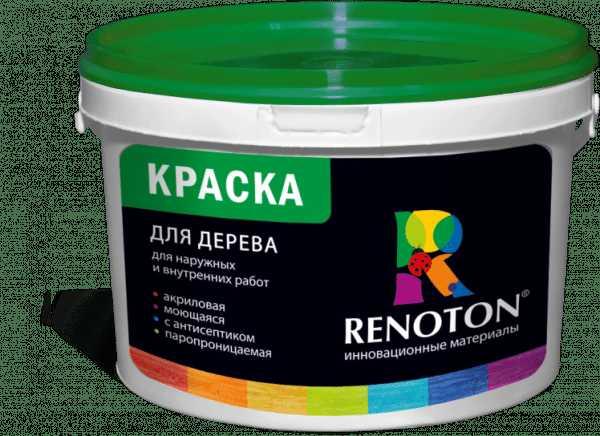 Акриловая краска фирмы Ренотон