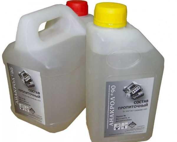 Жидкость для стабилизации дерева Анакрол 90