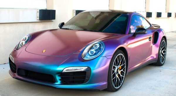Автомобиль покрашенный парамагнитной краской