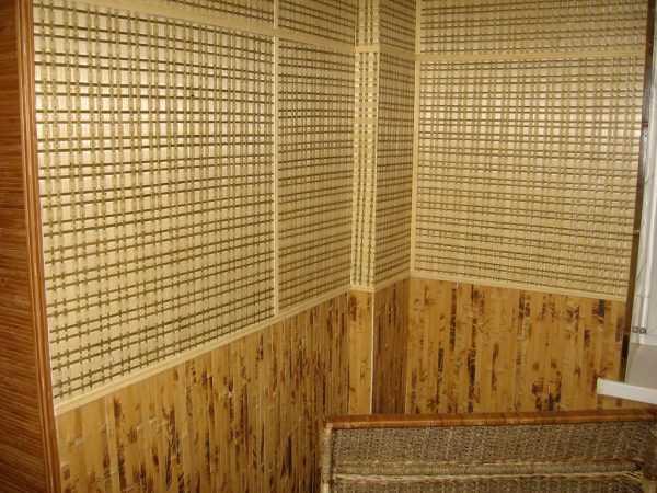 Использование экологичных обоев из бамбука