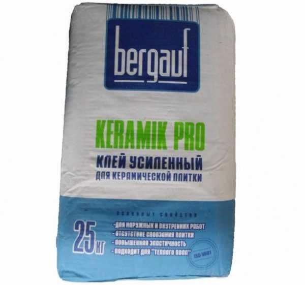 Сухая смесь Bergauf Keramik Pro