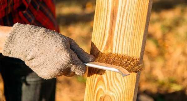 Брашировка дерева своими руками