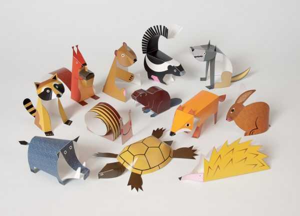 Бумажные игрушки