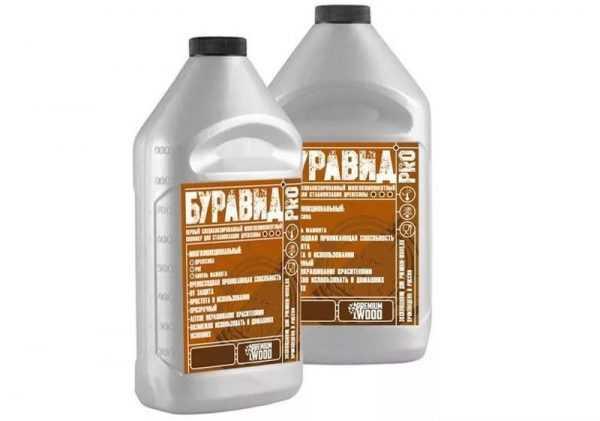 Полимер для стабилизации древесины Буравид