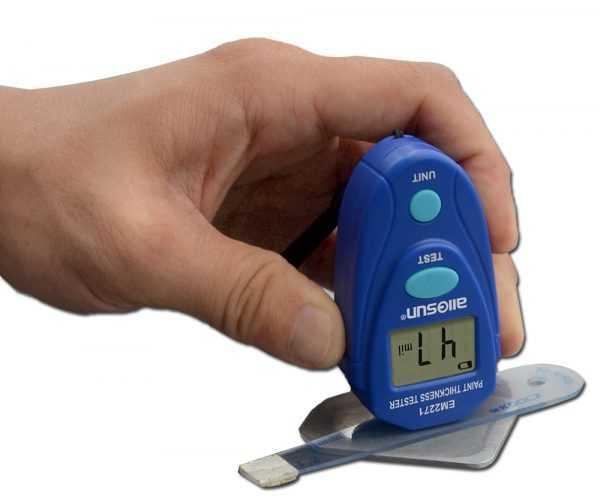 Цифровой тестер для измерения толщины лакокрасочного покрытия