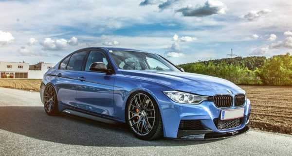 BMW 2015 X6 M (F16) голубая