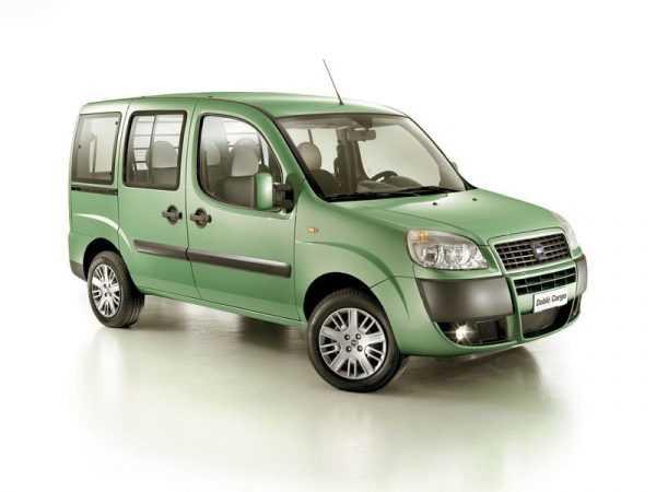 Fiat Doblo зеленого цвета для стрельцов