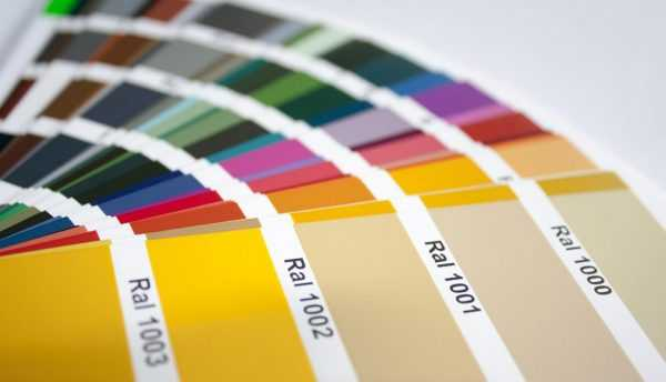 Цветовой стандарт RAL используется в лакокрасочной промышленности