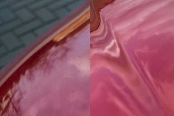 Выцветание краски