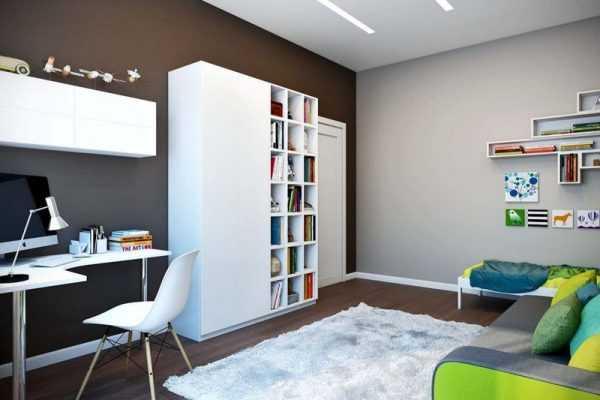 Детская комната в сдержанных тонах
