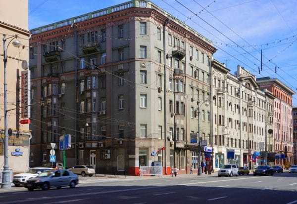 Дом на Тверской, где Павел Воля снимал квартиру