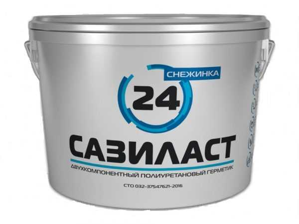 Двухкомпонентный полиуретановый состав Снежинка