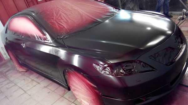 Эксклюзивная покраска автомобиля парамагнитной краской