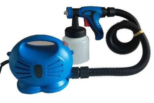 Электрический пульверизатор с пистолетом для распыления краски