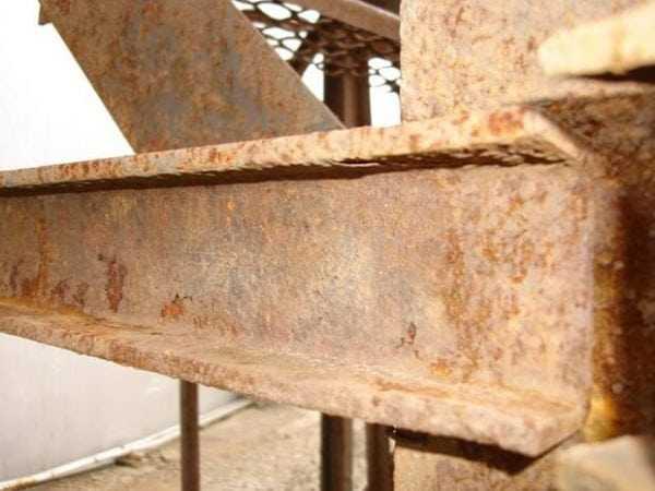 Коррозия изделий из металла