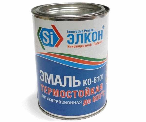 Термостойкая антикоррозионная эмаль КО-8101