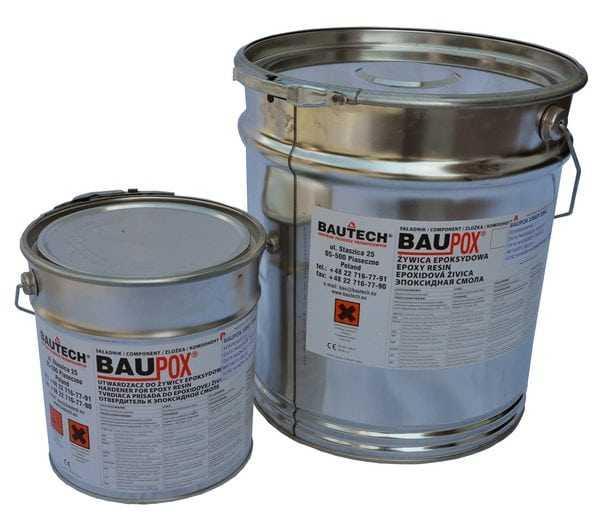 Двухкомпонентная эпоксидная шпаклевочная смесь для бетонных покрытий