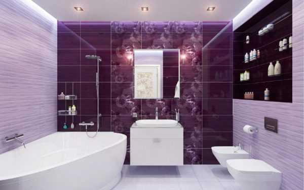 Фиолетовый улучшает настроение