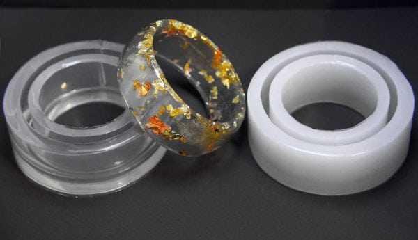 Формы для отливки колец из эпоксидки