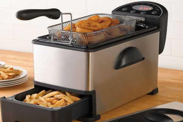 Фритюрница для приготовления картошки фри и других блюд
