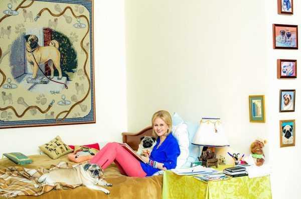 Спальня в доме Дарьи Донцовой