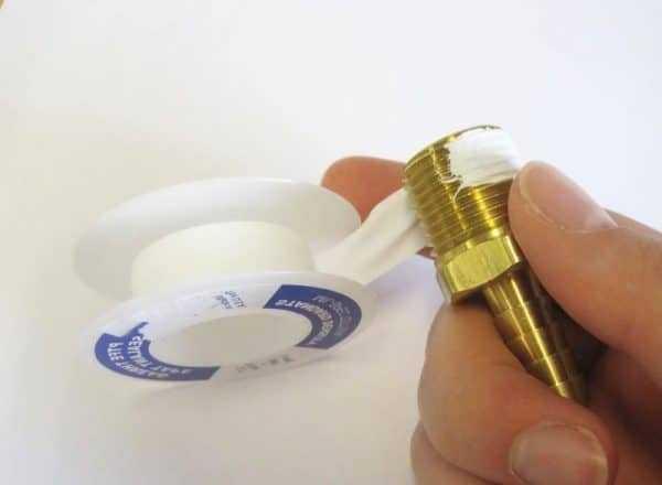 Фум лента белая для герметизации труб