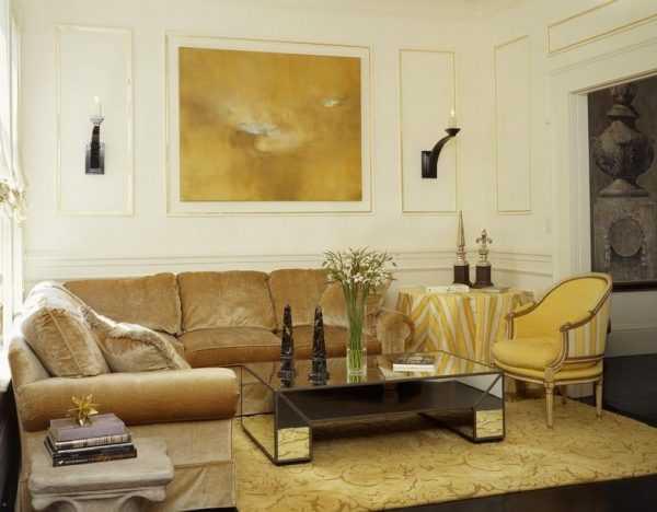 Golden style в интерьере